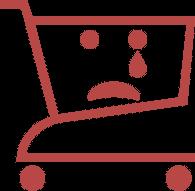 Indkøbskurven er tom